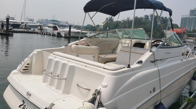 Used boat Monterey 262 CR with cabin sell $58000